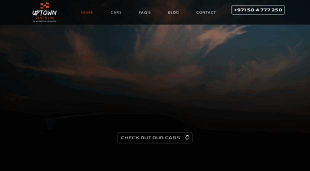 Uptowndxb Com Luxury Car Rental Dubai Spor Uptown Dxb