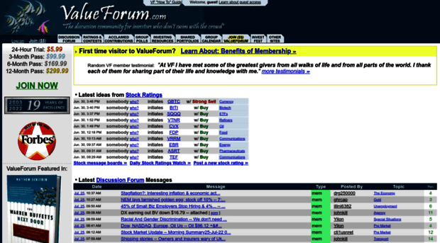 valueforum.com