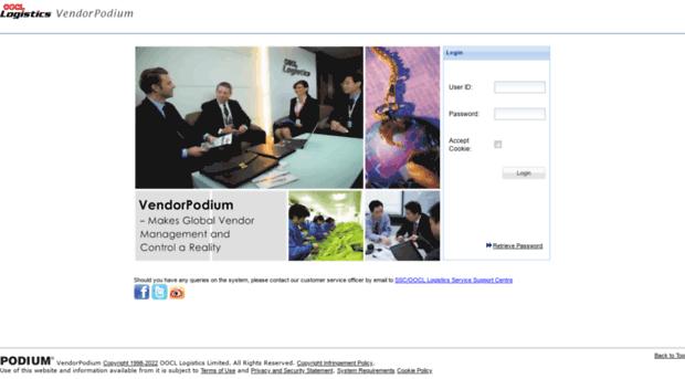 www vendorpodium com