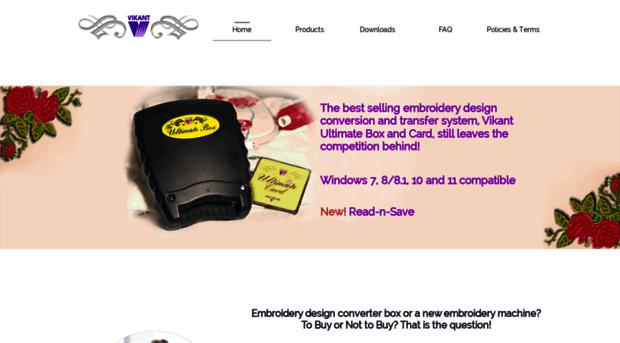 vikant-emb com - Embroidery Designs Converter V    - Vikant Emb
