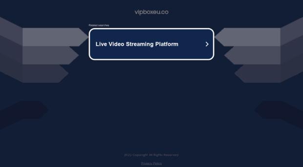 vip box live streaming football 2