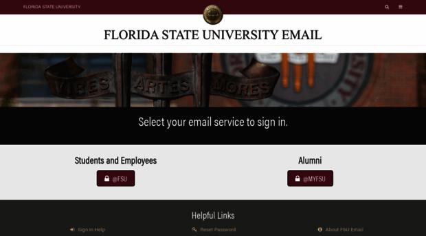 Fsu webmail
