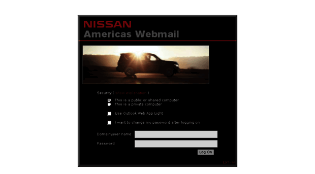 Webmail nissan biz