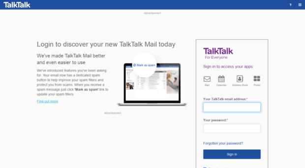 My Talktalk Webmail >> Webmail Talktalk Net Webmail Talktalk