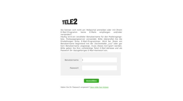 Webmail Tele2  Tele2 Forum