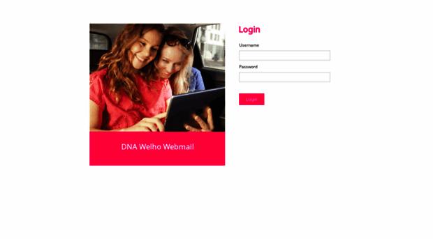 Dna welho webmail