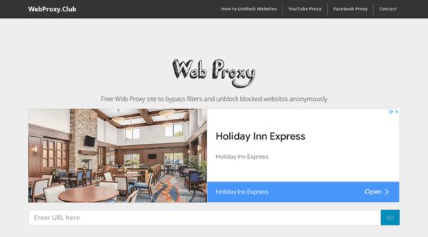 webproxy club Web Proxy Site | Free Web Proxy to Unblock