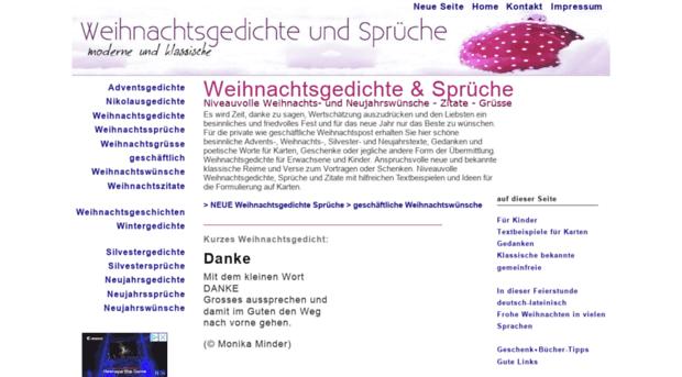 weihnachtsgedichte-sprueche.net - Weihnachts- und Neujahrsgedich ...