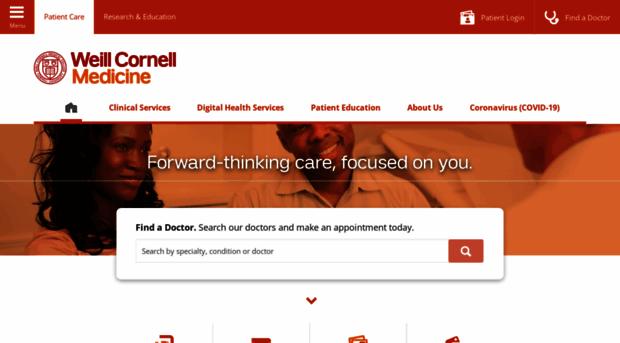 weillcornell org Patient Care | Weill Cornell Medicine