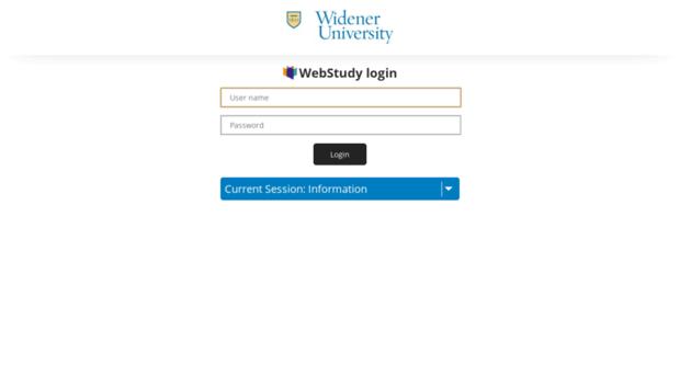 widener webstudy