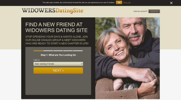 Online dating for young widows