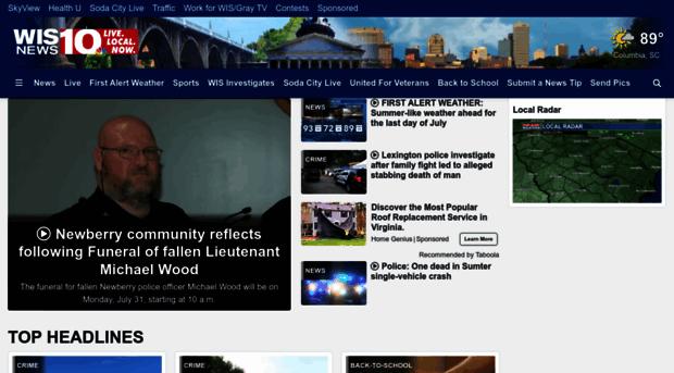 wistv com Home - South Carolina's news, weather and sports leader