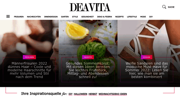 Deavita: Wohnideen, Design, Frisuren, Make Up, Lifestyle, Gesundheit U.