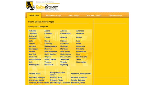 yellowbrowser com - Local Phone Book, Businesses