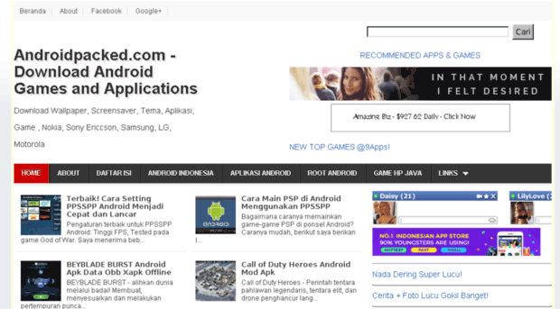 zonaponsel mywapblog com - Androidpacked com - Download A