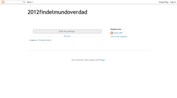 2012findelmundoverdad.blogspot.mx