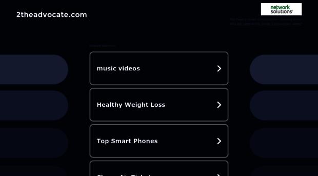 2theadvocate.com