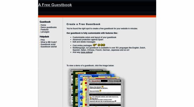 a-free-guestbook.com