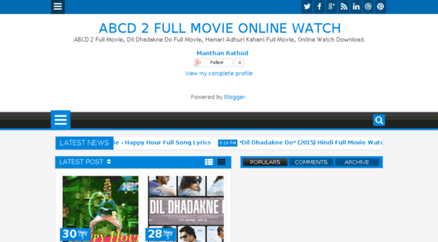 Abcd2fullmovie Co In Abcd 2 Full Movie Online Watch Abcd 2 Full Movie