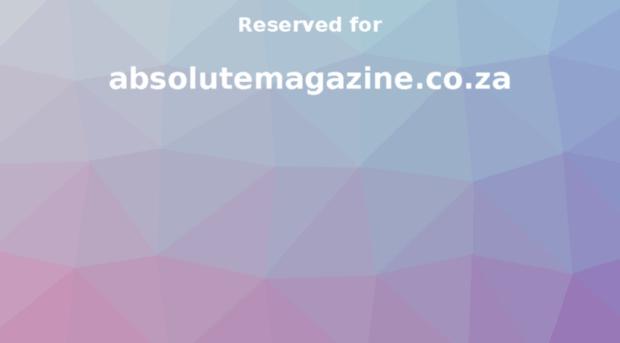 absolutemagazine.co.za