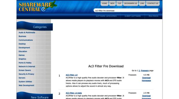 ac3-filter-fre-download.sharewarecentral.com