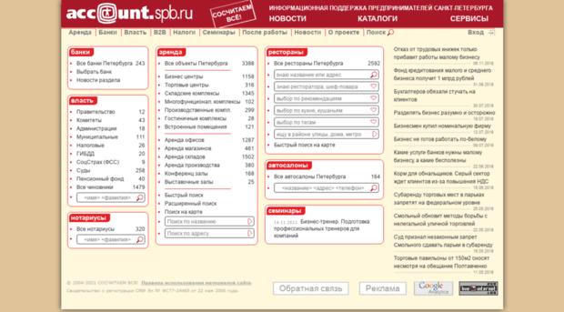 account.spb.ru