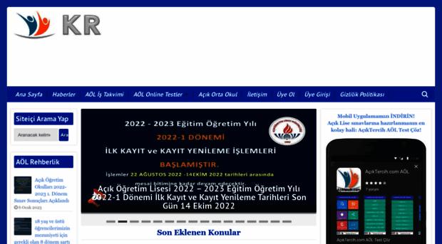 aciklisesinavsorulari.com