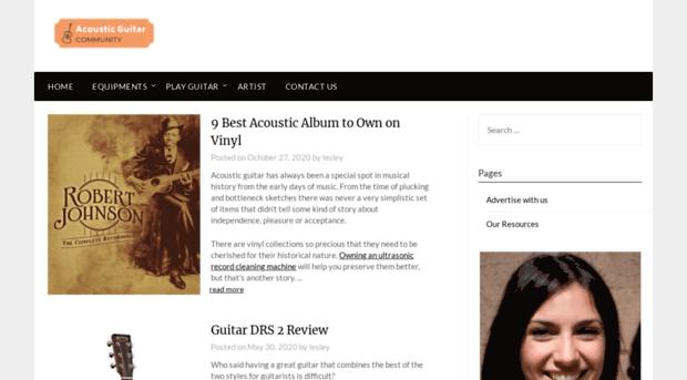 acousticguitarcommunity.com