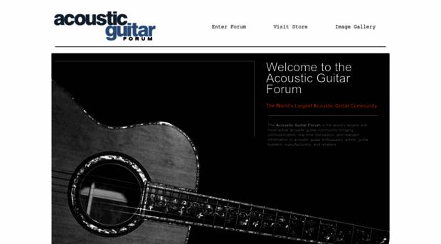 acousticguitarforum.com