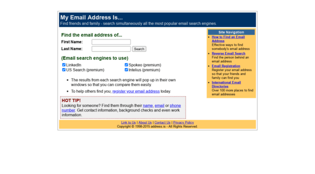 address.is
