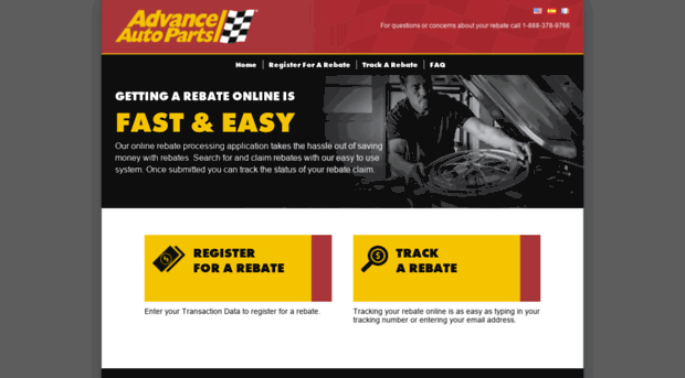 Advance Auto Parts 4myrebate Com >> Advanceautoparts 4myrebate Com Rebate Center