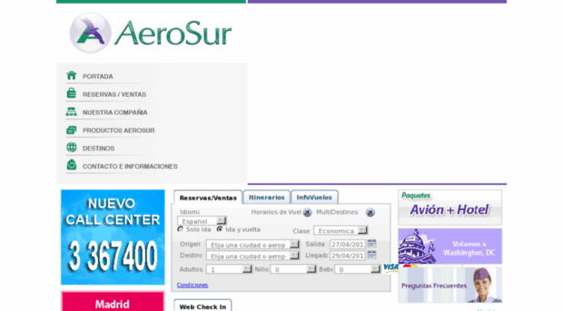 aerosur.com