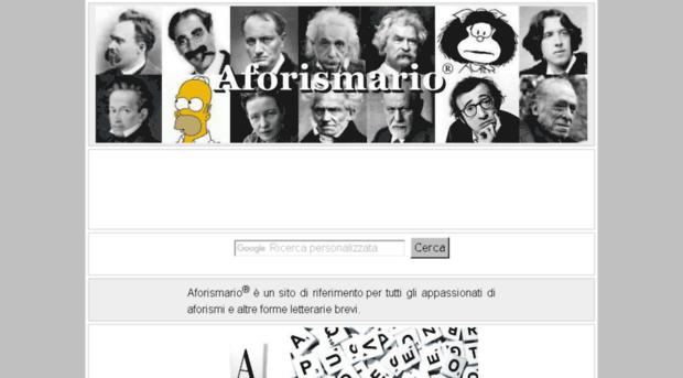 aforismario.it