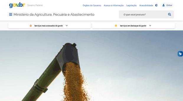 agricultura.gov.br