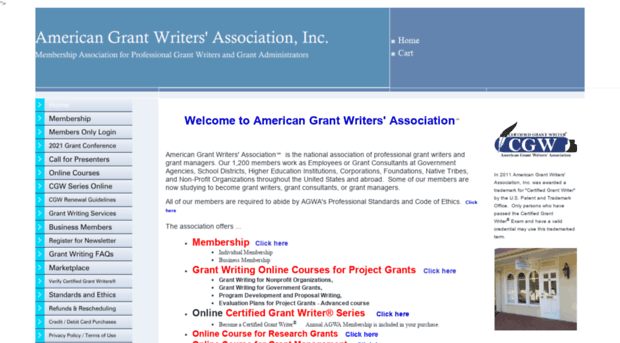 grant writing consultants