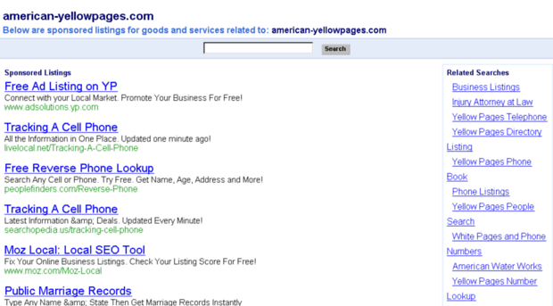 Images of American Yellow Pages - #rock-cafe