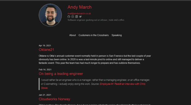 andymarch.co.uk