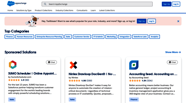 appexchange.salesforce.com