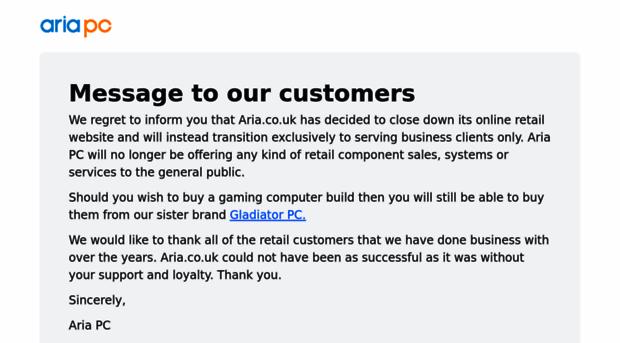 aria.co.uk