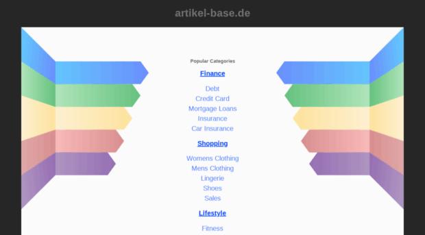 artikel-base.de