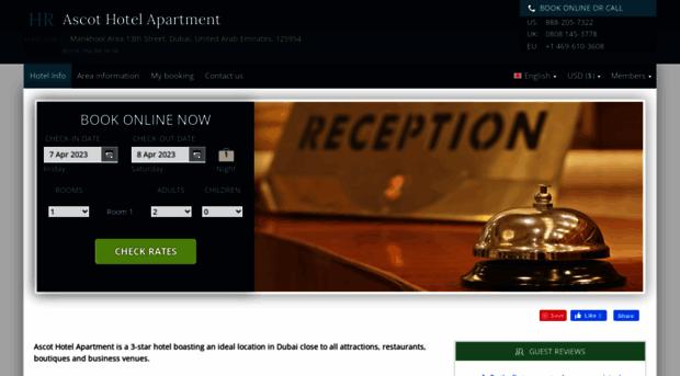 ascot-hotel-apartments.h-rez.com