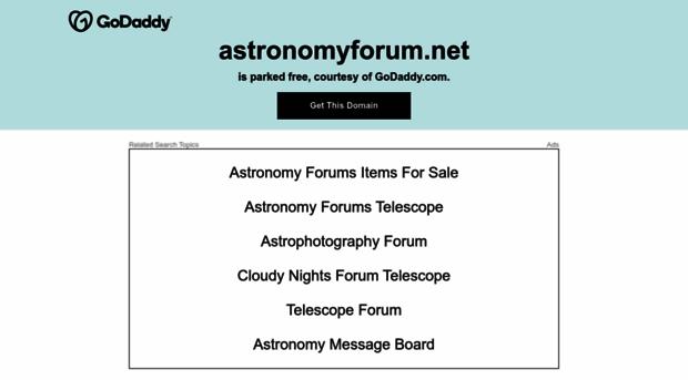 astronomyforum.net