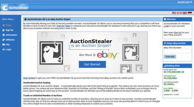 Auctionstealer Co Uk Auctionstealer Uk Free Online Auction Stealer