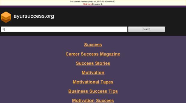 ayursuccess.org