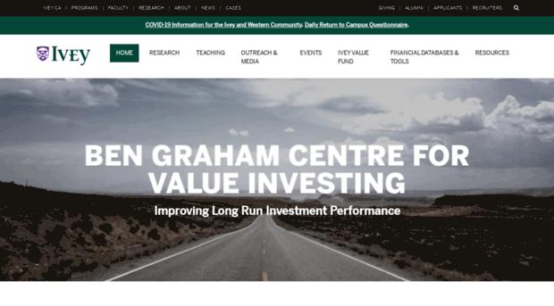 bengrahaminvesting.ca