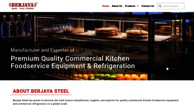 Berjayasteel Com Commercial Kitchen Equipment Berjaya Steel
