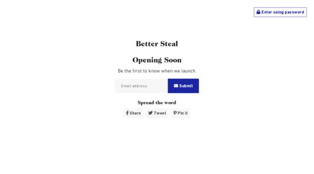 bettersteal.com