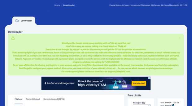 bigspeeds com - Deepbrid com - Downloader   Fr    - Bigspeeds