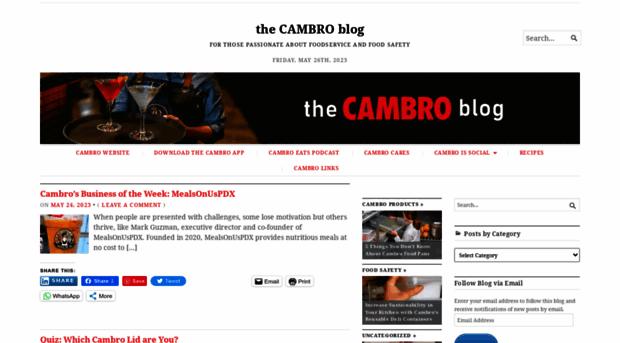 blog.cambro.com