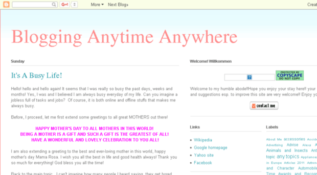 blogginganytimeanywhere.com